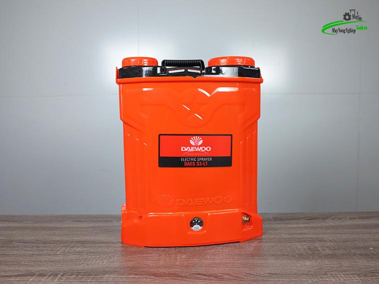 Binh xit dien daewoo 20 lit pin Lithium DAES s3a LT cam 4 - Bình xịt điện Daewoo 20 lít DAES-S3A-LT Pin Lithium 8AH-12V Màu Cam