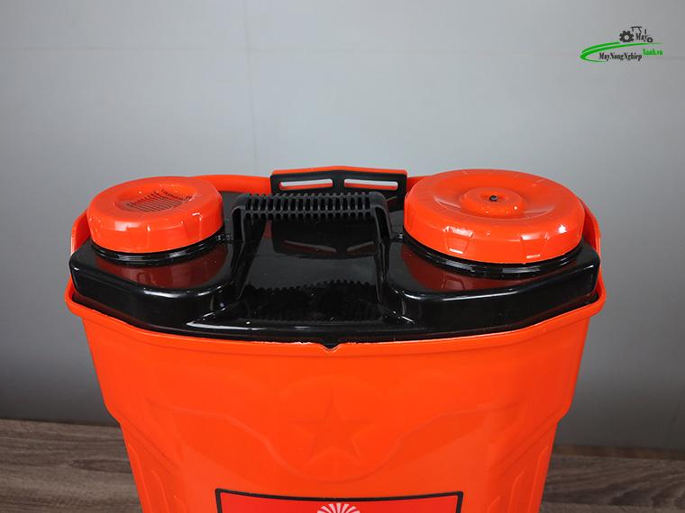 Binh xit dien daewoo 20 lit pin Lithium DAES s3a LT cam 7 - Bình xịt điện Daewoo 20 lít DAES-S3A-LT Pin Lithium 8AH-12V Màu Cam