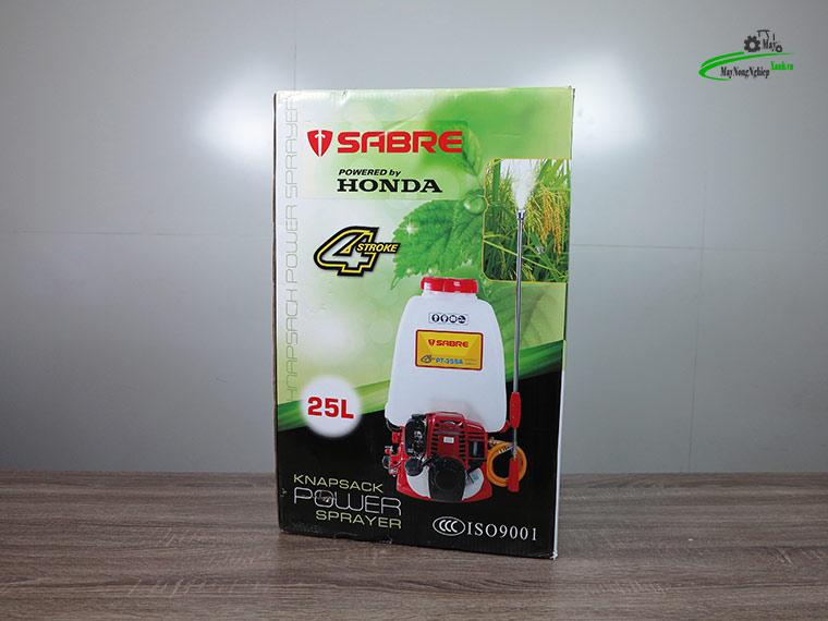 Binh xit may phun thuoc sau Honda gx25 thai Sabre pt25sa 25 lit 11 1 - Máy phun thuốc trừ sâu HONDA GX25 SABRE PT-25SA 25 Lít [4 thì] Honda Thái Lan