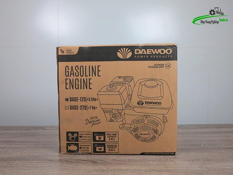 Dong co xang may no 5.5hp daewoo dage 170 tua nhanh 10 - Động cơ xăng máy nổ 5.5HP Daewoo DAGE-170 Tua Nhanh Chính Hãng