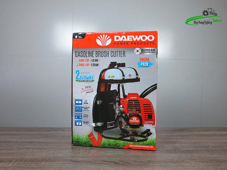 may cat co deo lung daewoo dabc 43P nong 40 15 - Máy cắt cỏ đeo lưng Daewoo DABC 43P Nòng 40 1.25KW Chính hãng