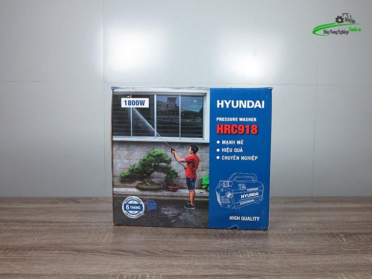 may xit rua hyundai hrc918 chinh ap rua may lanh 1800w 9 - Máy xịt rửa xe Hyundai HRC918 Chỉnh áp rửa Máy Lạnh 1800W
