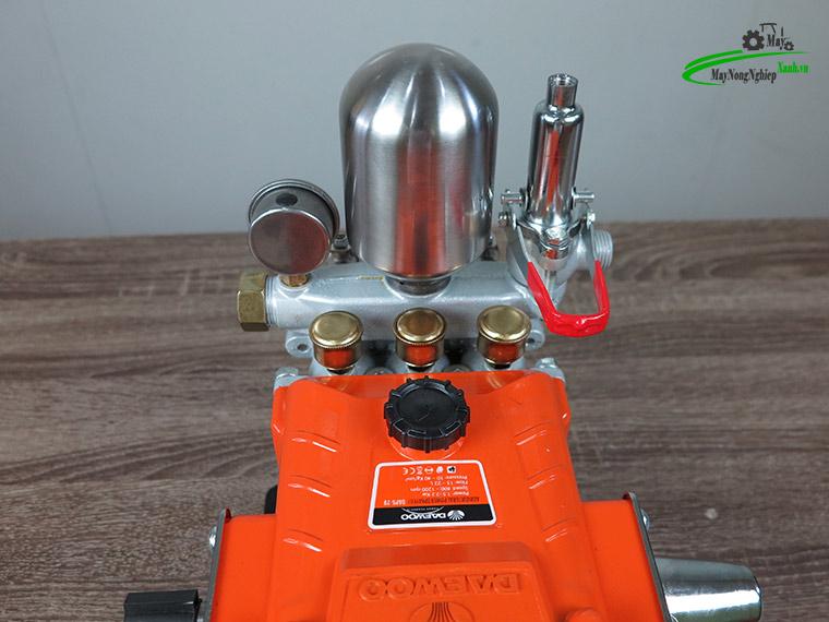 dau xit ap luc daewoo daps 29a 1hp cam chinh hang 7 - Đầu xịt áp lực Daewoo Daps 29A 1HP màu cam chính hãng.