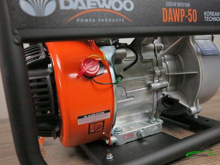may bom nuoc dau no xang Daewoo dawp 5.5hp 10 - Máy bơm nước đầu nổ xăng Daewoo DAWP 50 5.5HP Ống 50mm Chính Hãng