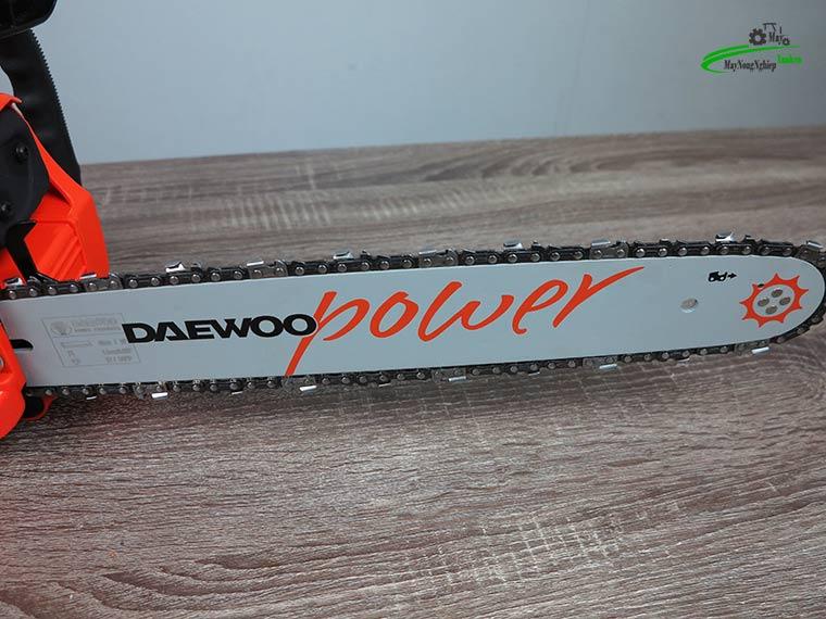 may cua xich 40cc Daewoo 1.6kw chinh hang 4 - Máy cưa xích 40cc Daewoo Dacs 4019 1.6Kw đủ lam xích chính hãng