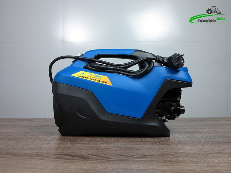 may xit rua xe mini Omais ql980t chinh ap mau xanh 2 - Máy xịt rửa xe mini OMAIS QL 980T Chỉnh áp màu Xanh
