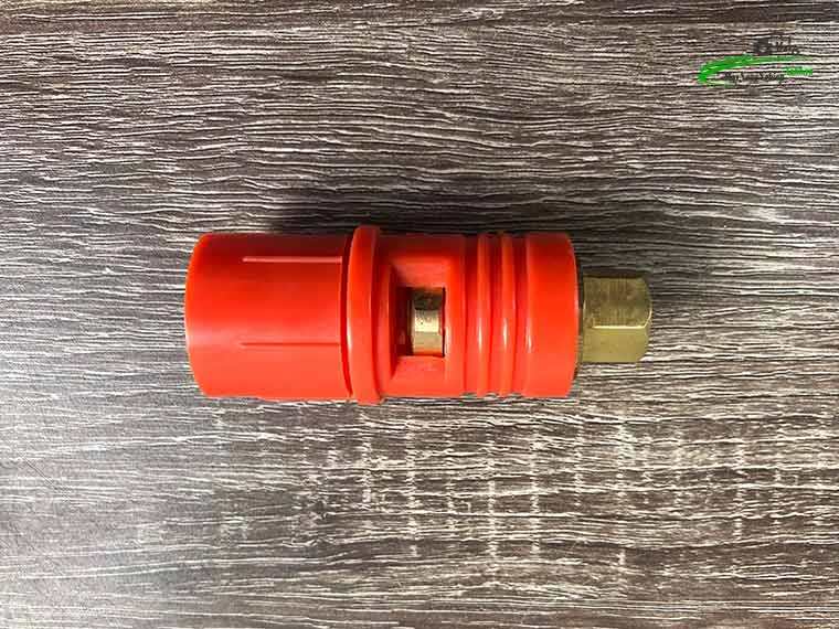 bec cam rua xe cao ap 1 - Béc cam chỉnh tia nước lõi sứ 1.5mm máy rửa xe cao áp