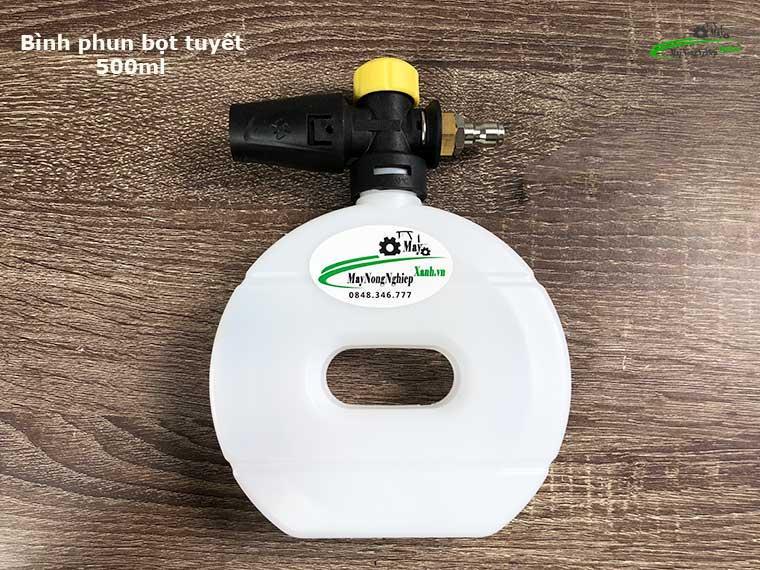 binh phun bot tuyet 3 - Bình phun bọt tuyết 500ml máy xịt rửa xe[bình tròn]