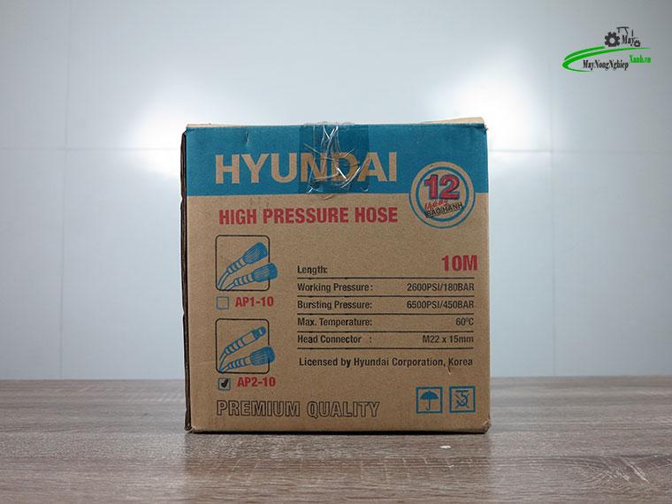 day xit rua xe huyndai ap2 10 - Dây rửa xe cao áp 10m Hyundai AP2-10 hàng theo máy