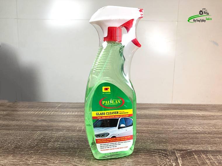 nuoc lau kinh da nangpallas 600ml - Nước rửa kính ô tô Pallas 600 ml Chai Xịt Tiện Lợi.