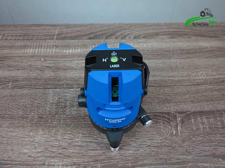 may can bang tia laser tia xanh hyundai htx5 60 3 - Máy cân bằng tia Laser Hyundai HTX5-60 5 Tia Xanh