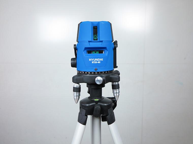 may can bang tia laser tia xanh hyundai htx5 60 4 - Máy cân bằng tia Laser Hyundai HTX5-60 5 Tia Xanh