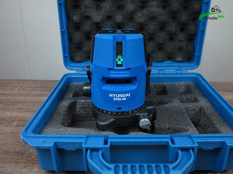 may can bang tia laser tia xanh hyundai htx5 60 5 - Máy cân bằng tia Laser Hyundai HTX5-60 5 Tia Xanh