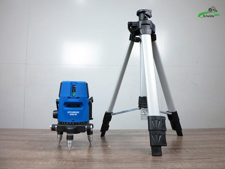 may can bang tia laser tia xanh hyundai htx5 60 6 - Máy cân bằng tia Laser Hyundai HTX5-60 5 Tia Xanh