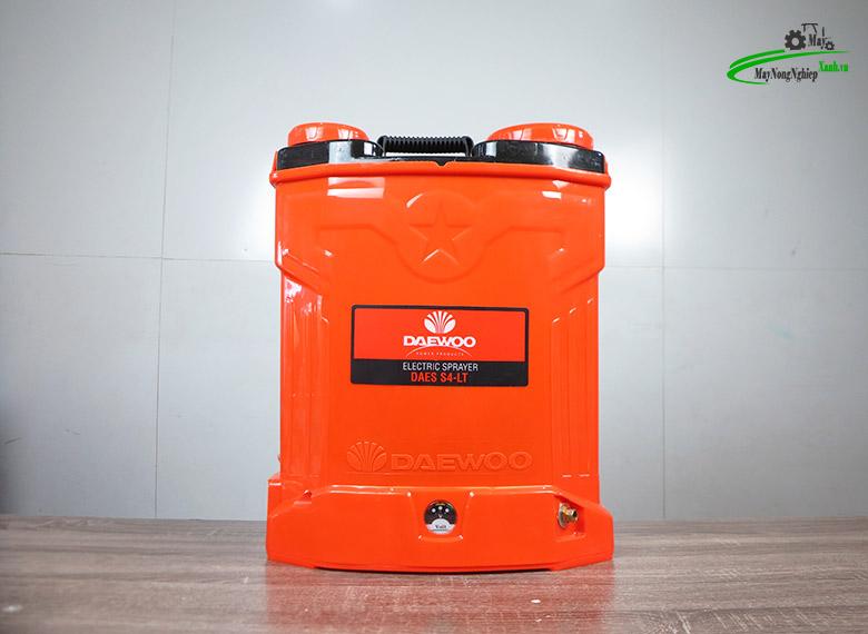 binh xit dien pin lithium 12AH daewoo daes s4 lt 20 lit 1 - Bình xịt điện Pin Lithium 12AH-12V Daewoo DAES-S4-LT 20 Lít Cam
