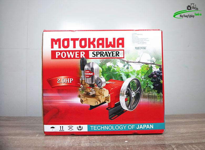 dau xit ap luc 2hp Motokawa MK 392 rua xe xit thuoc sau 7 - Đầu xịt áp lực 2HP Motokawa MK-392 Rửa xe, Xịt thuốc sâu