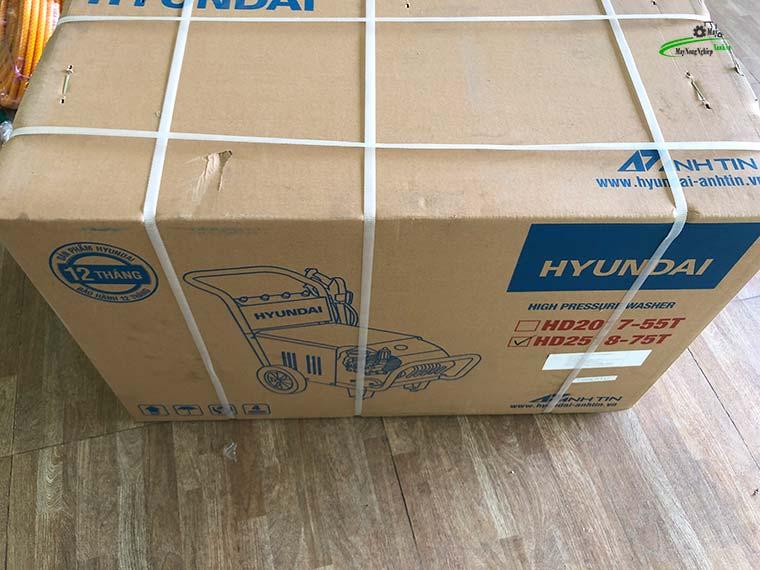 may rua xe cong nghiep Hyundai Hd2518 75T 260 bar 6 - Máy rửa xe công nghiệp Hyundai HD2518-75T Áp Lực 260 Bar