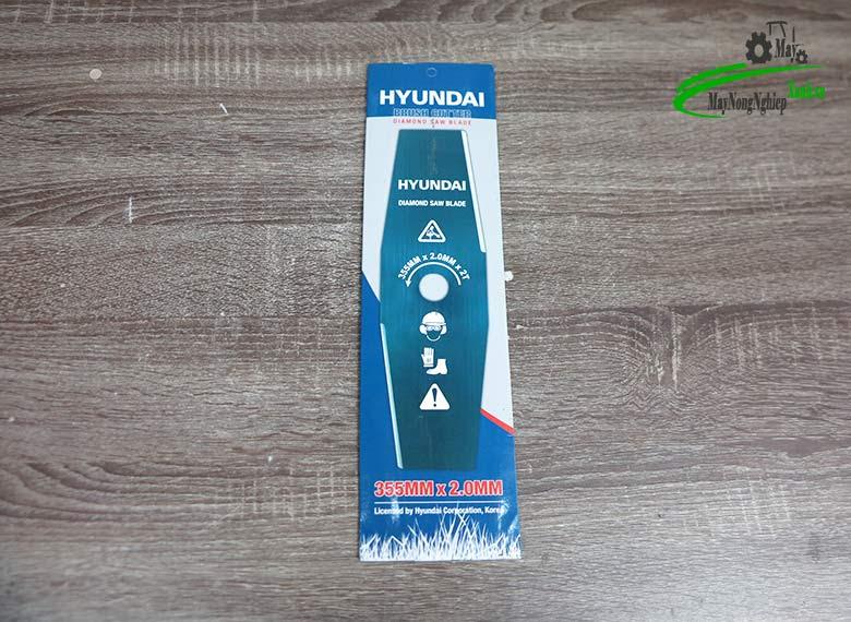 luoi cat co bau hyundai 3.5 tac day 2 mm - Lưỡi cắt cỏ bầu 355mmx2mmx2T Huyndai (dài 3.5 tấc dày 2 ly)