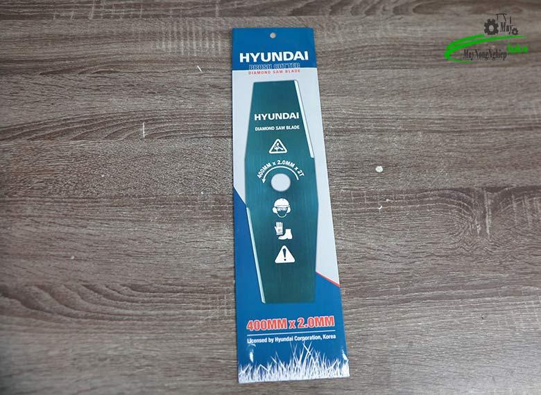 luoi cat co bau hyundai 4 tac day 2 mm - Lưỡi cắt cỏ bầu 405mm x 2mm x 2t Hyundai chính hãng ( dài 4 tấc , dày 2 ly)