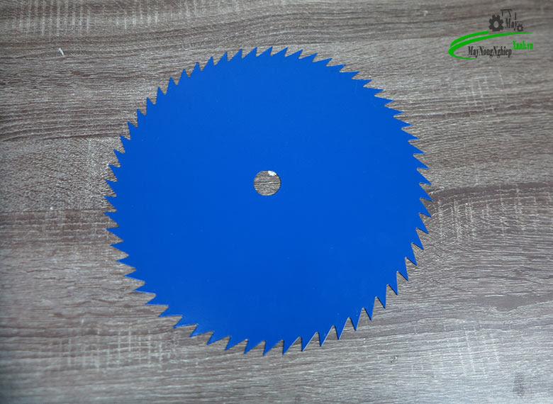 luoi cat co tron 305 mm 2 - Lưỡi cắt cỏ tròn 305mm x 1,4 mm x 60T răng cưa (lưỡi thép 3 tấc không mài )