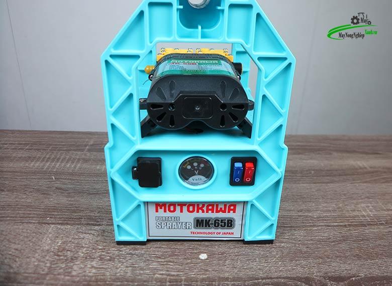 may phun thuoc cam tay chay dien motokawa mk 65b ac quy 1 - Máy phun thuốc cầm tay chạy điện (có Ắc Quy) Motokawa MK-65B